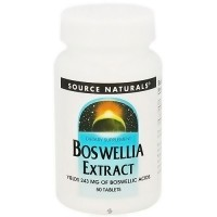 Source Naturals Boswellia extract with 262 mg tablets - 50 ea