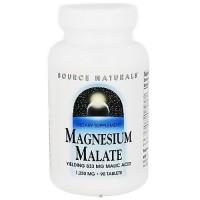 Source Naturals Magnesium Malate Tablets - 90 ea