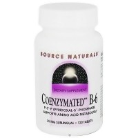 Source Naturals Coenzymated B-6 25 mg sublingual tablets - 120 ea