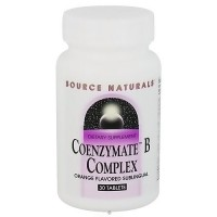 Source Naturals Coenzyme B complex, sublingual orange flavoured tablets - 30 ea