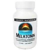 Source NaturalsSleep Science Melatonin 2.5 mg, Orange tablets - 240 ea