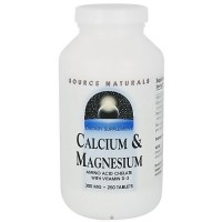 Source Naturals Calcium and Magnesium 300 mg - 250 Tablets