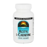 Source Naturals acetyl L carnitine 500 mg tablets - 120 ea