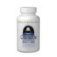 Source Naturals Chromium Amino Acid Chelate 200 mcg tablets - 100 ea