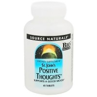 Source Naturals St Johns positive thoughts tablets supports good mood - 45 ea