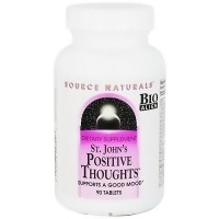 Source Naturals St Johns Positive Thoughts - 90 Tablets