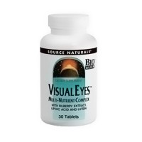 Source Naturals Visual eyes multi-nutrient complex tablets - 30 ea