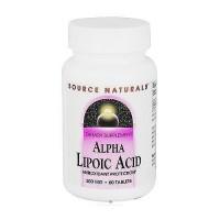 Source Naturals Alpha lipoic acid 200 mg tablets - 60 ea