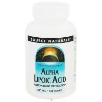 Source Naturals Alpha-Lipoic Acid 200 mg - 120 Tablets