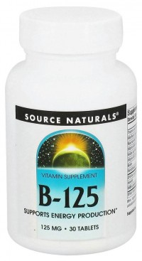 Source naturals b-125 energy production tablets - 30 ea