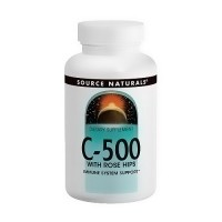 Source Naturals Vitamin C 500 with rosehips 500 mg tablets - 100 ea