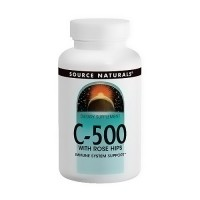 Source Naturals Vitamin C with rosehips 500 mg tablets - 500 ea