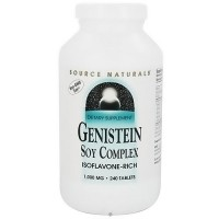 Source Naturals Genistein soy complex isoflavone-rich 1000 mg tablets - 240 ea
