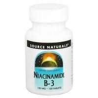 Source Naturals Niacinamide B-3 100 Mg Tablets - 100 Ea