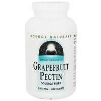 Source Naturals Grapefruit pectin 1000 mg tablets - 240 ea