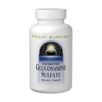 Source Naturals Glucosamine sulfate 500 mg tablets - 60 ea