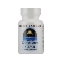 Source Naturals Glucosamine sulfate 750 mg tablets - 30 ea