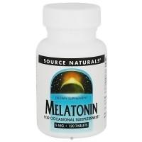 Source Naturals Sleep Science Melatonin 5 mg - 120 ea