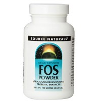 Source Naturals FOS fructooligosaccharides powder - 3.53 oz