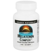 Source Naturals Melatonin Complex, Orange - 100 Sublingual Tablets