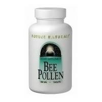 Source Naturals Bee pollen 500 mg tablets - 100 ea