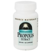 Source Naturals Propolis extract 500 mg capsules - 60 ea
