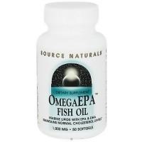 Source Naturals EPA 1000 mg omega fish oil softgels - 50 ea