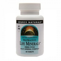 Source Naturals High bioactivity life minerals tablets - 60 ea