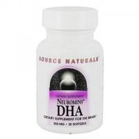 Source Naturals DHA Neuromins 100 mg softgels - 60 ea