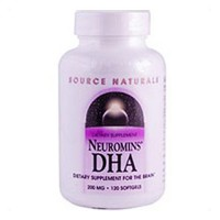 Source NaturalsNeuromins DHA 200 mg softgels for brain - 120 ea