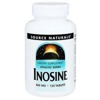 Source Naturals Inosine 500 mg tablets - 120 ea