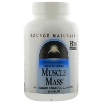 Source Naturals Muscle mass anabolic complex tablets - 60 ea