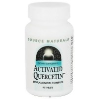 Source Naturals Activated Quercetin Bioflavonoid Complex - 50 Tablets
