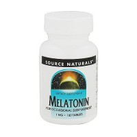 Melatonin 1 mg stress relaxer tablets by Source Naturals, 100 ea
