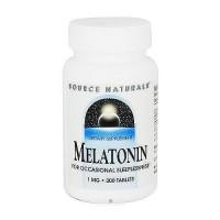 Source Naturals Melatonin 1 mg tablets - 200 ea