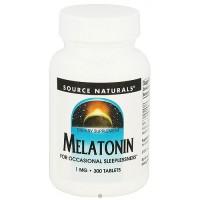 Source Naturals Melatonin 1 mg tablets - 300 ea