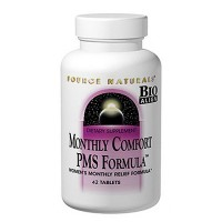 Source Naturals monthly comfort tablets, PMS formula - 42 ea