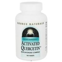 Activated quercetin bioflavonoid complex tablets - 100 ea