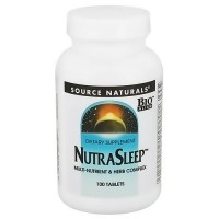 Source Naturals Nutra sleep tablets _ 100 ea