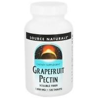 Source Naturals Grapefruit pectin 1000 mg tablets - 120 ea