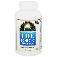Source Naturals Life Force multiple energy activator tablets - 120 ea