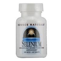 Source Naturals Selenium 200 mcg tablets - 60 ea