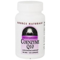 Source Naturals Coenzyme Q10 100 mg capsules - 60 ea