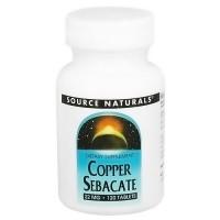 Source Naturals Copper sebacate 22 mg tablets - 120 ea