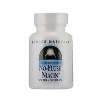 Source Naturals No flush niacin 500 mg tablets - 30 ea