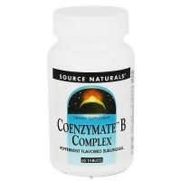 Source Naturals Coenzyme B complex, Pepermint - 60 Sublingual Tablets
