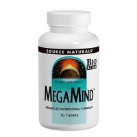 Source Naturals Megamind Bio-Aligned tablets - 30 ea