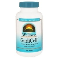 Source Naturals Wellness garlicell 6000 mcg tablets - 180 ea