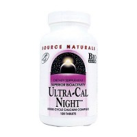 Source Naturals Ultra-cal night calcium complex tablets - 120 ea
