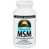 Source Naturals MSM powder - 8 oz